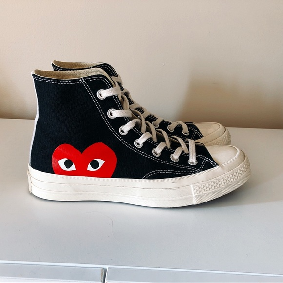 PLAY x Converse Chuck Taylor® Hidden Heart High Top Sneaker